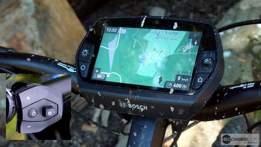 Assistance Bosch, écran et commandes