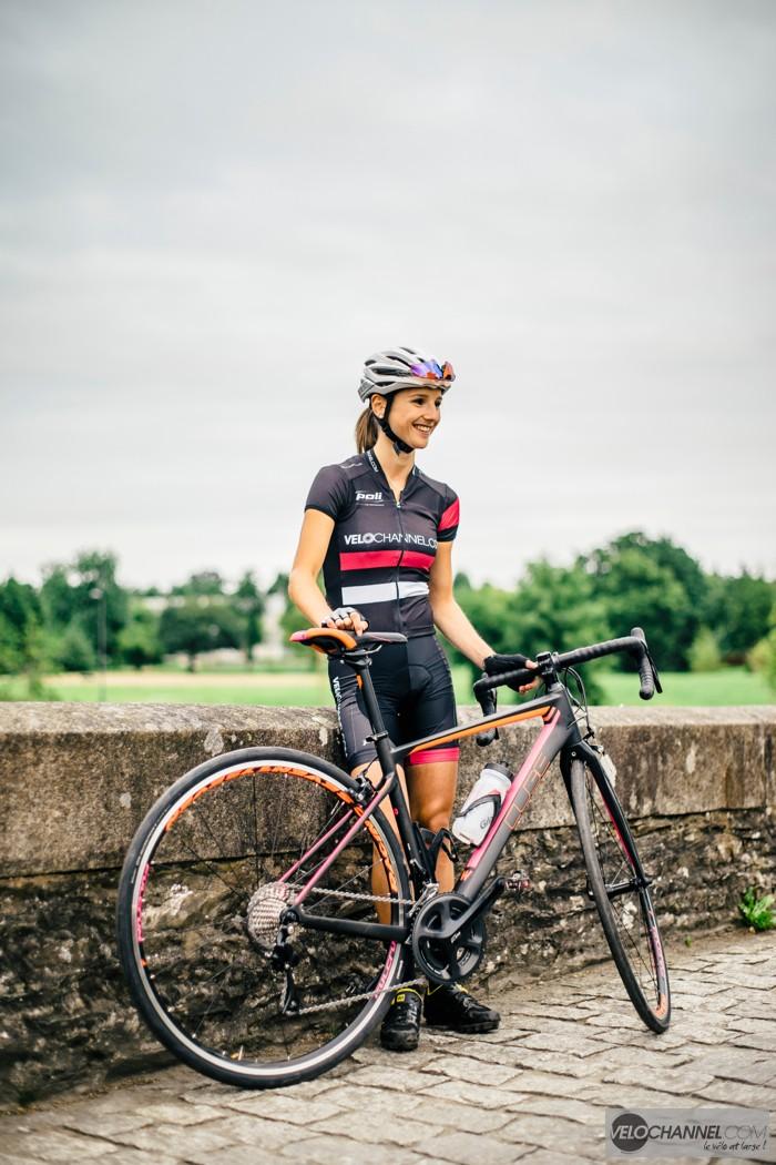 tenue-cyclisme-dame-poli-velochannel-cube