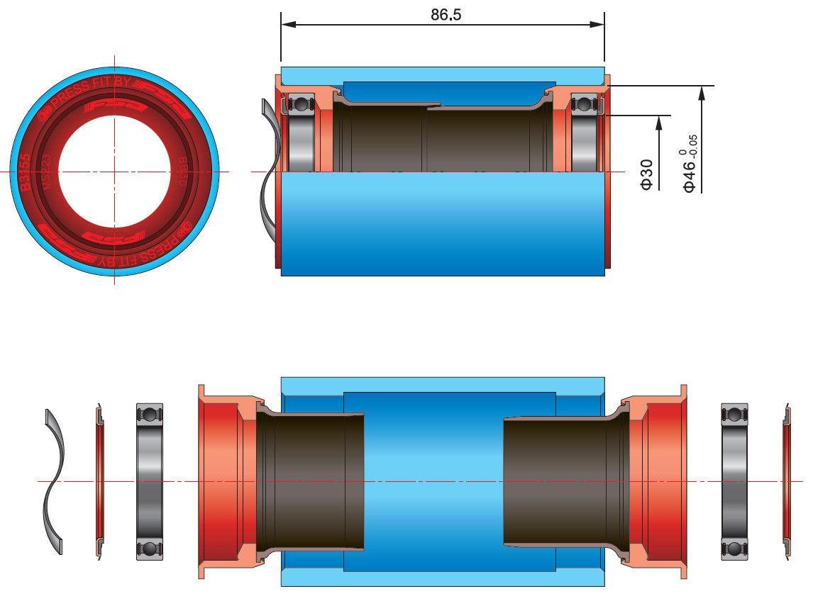 nwm-boitier-pedalier-bb386-evo