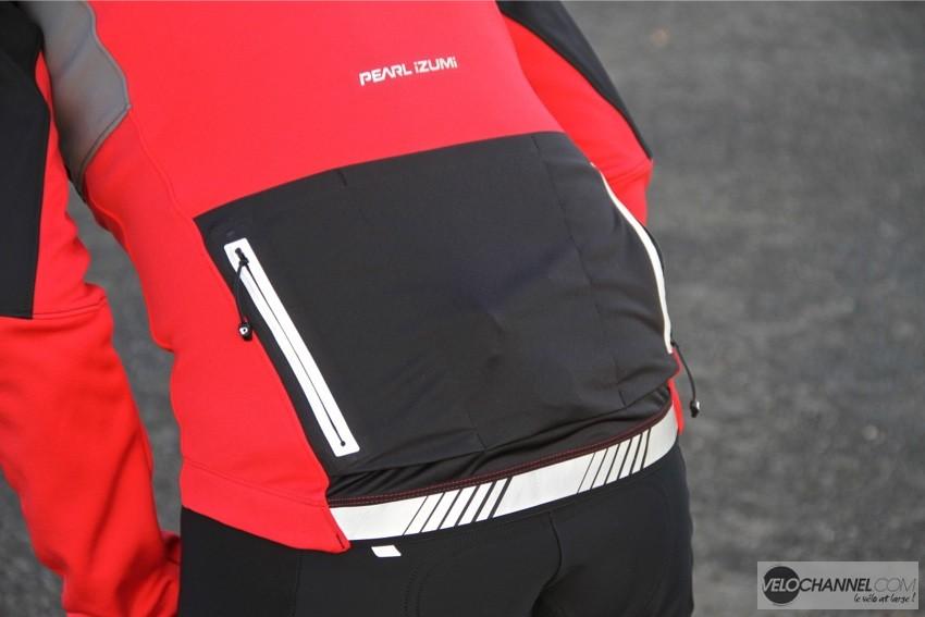 veste-cyclisme-pearl-izumi-rouge-dos-poches