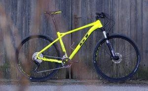 vtt GT Zaskar Elite 9r jaune fluo