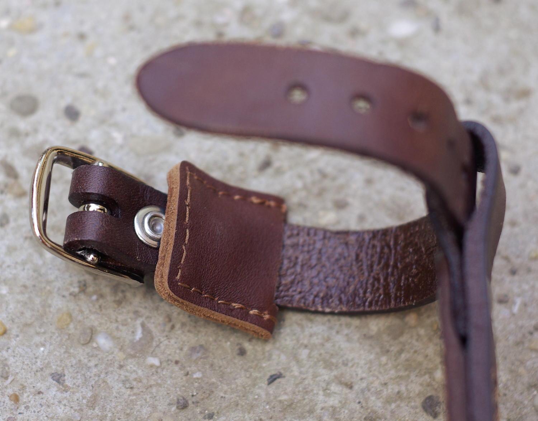 insert en cuir protection du rivet