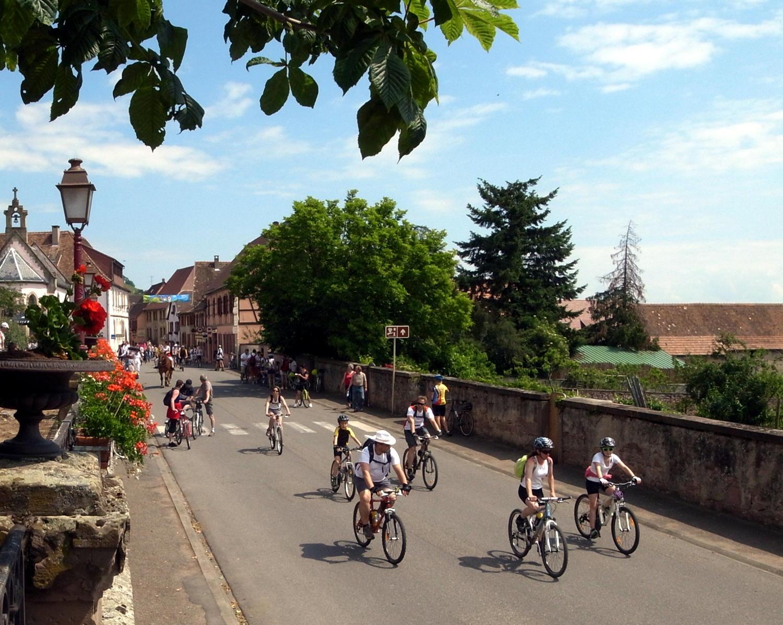 SlowUp Alsace à Saint-Hippolyte