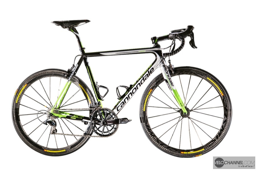 Cannondale SuperSix-EVO Garmin
