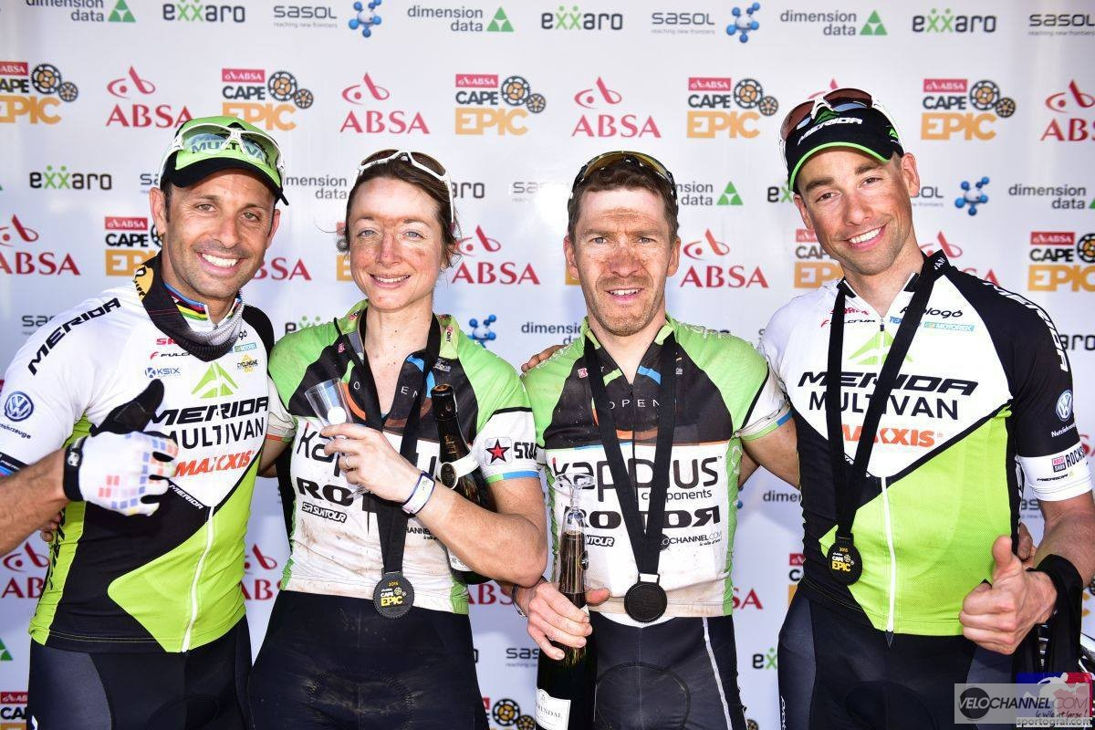 Cape Epic Jeff Coco Podium 1