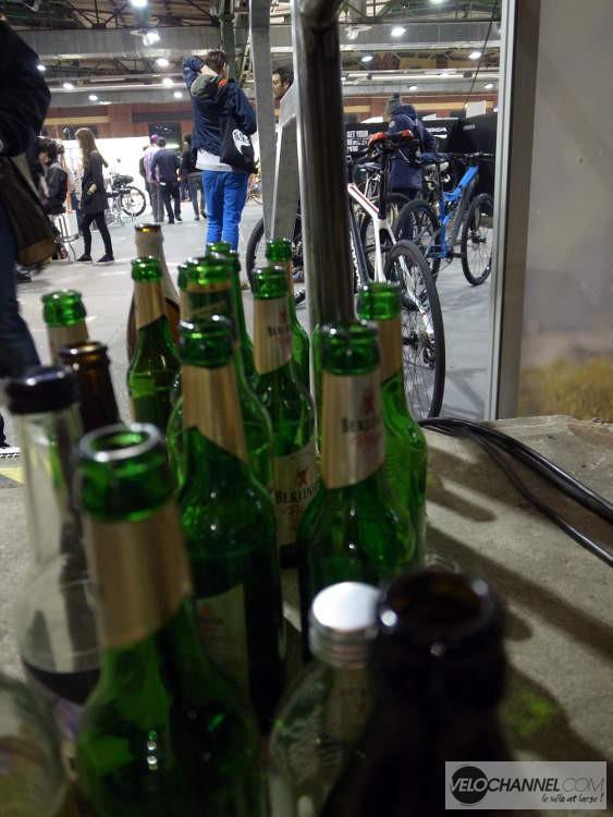 tristes bière vides !
