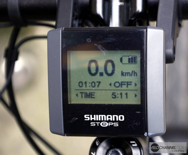 console Shimano STEPS