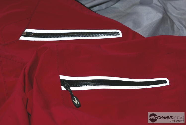 Zips poches RSX Neoshell