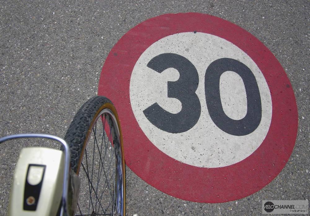signalisation horizontale 30 km/h