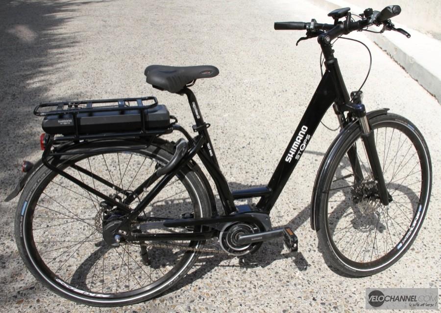 test du syst me e bike shimano steps. Black Bedroom Furniture Sets. Home Design Ideas