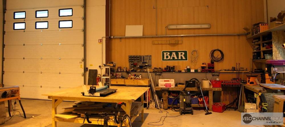 intérieur de l'atelier In'bô