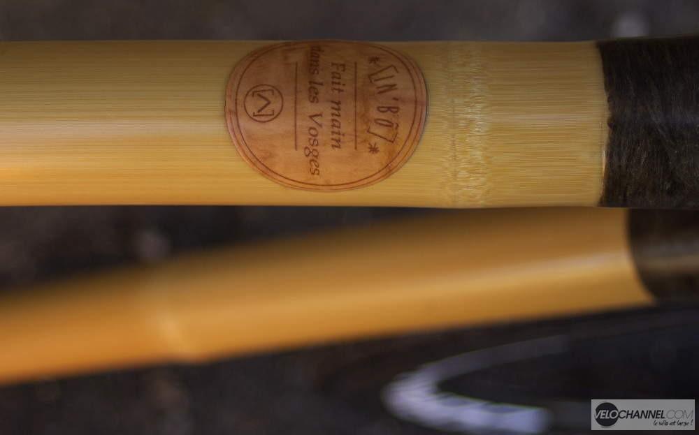 tube horizontal du Ventoux, vélo en bambou