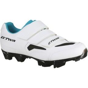 chaussures-btwin-vtt-500-femme-blanc