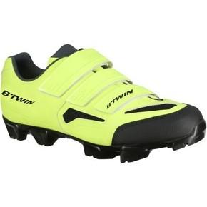 chaussures-btwin-vtt-500-jaune