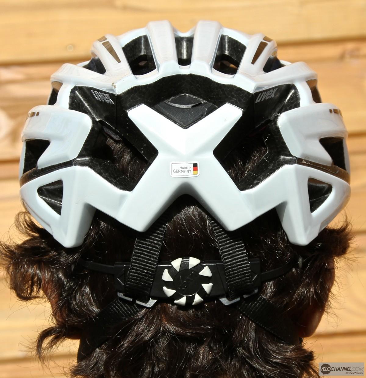 test-casque-uvex-race5-derrière-molette-maintien-occipital