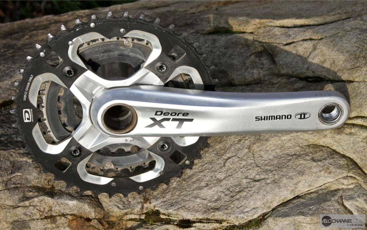 pédalier-shimano-deore-xt-triple-10-vitesses
