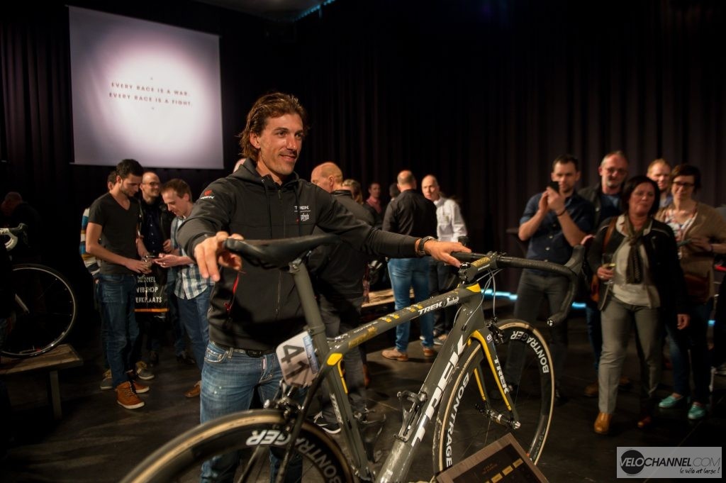 Trek Domane launch, Kortrijk, Belgium, April 4. 2016
