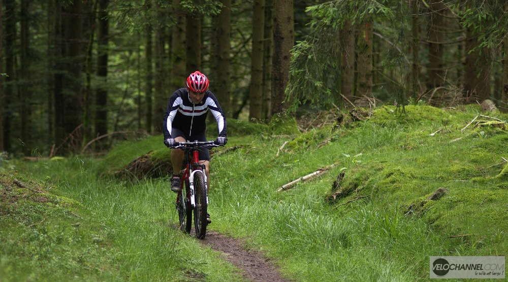 Une montée de l'Elsass Bike 2016 vers le col de la Wetzlach