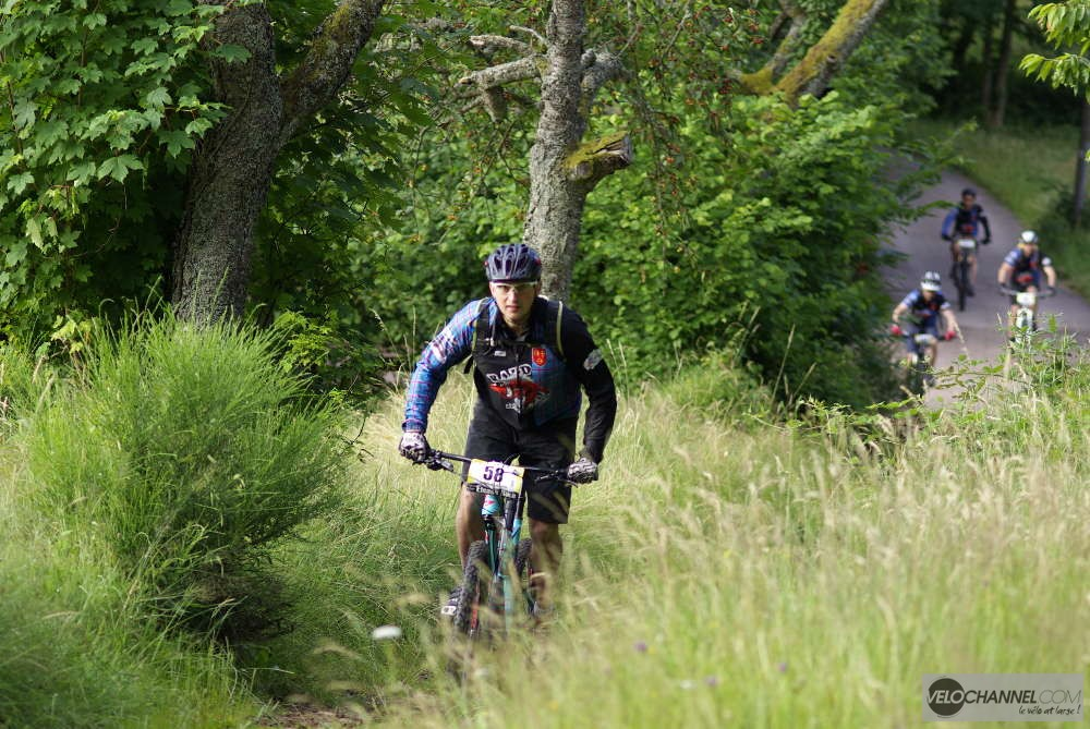 Une montée de l'Elsass Bike 2016