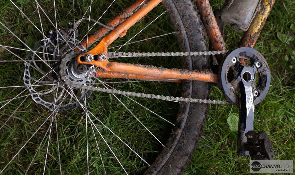 Un singlespeed sur l'Elsass Bike 2016 !