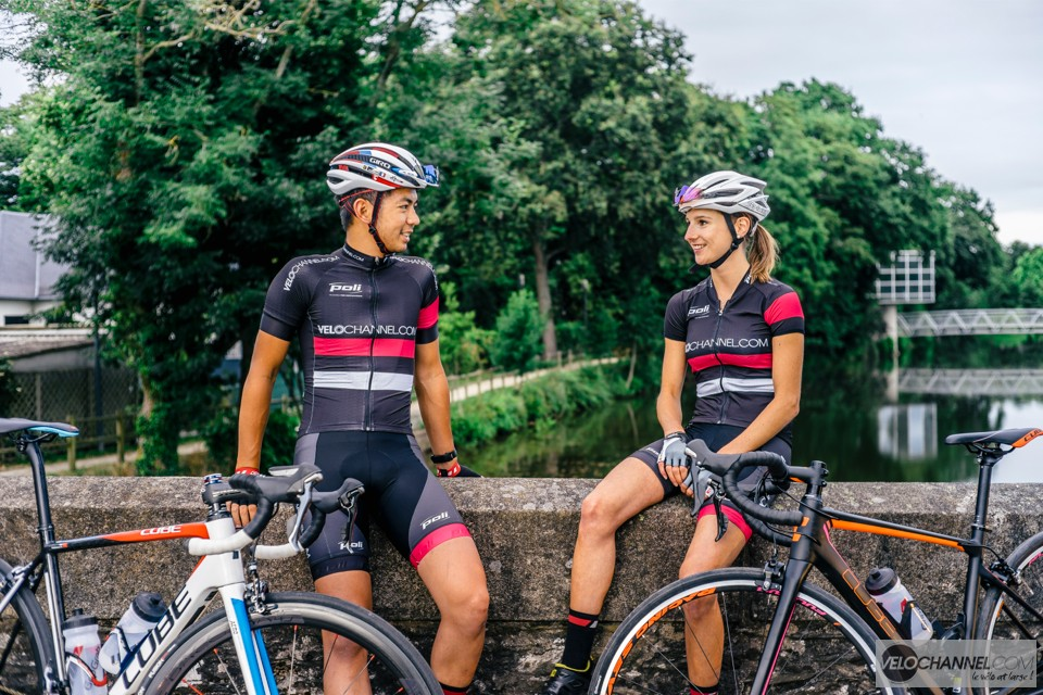 tenue-cycliste-velochannel-poli-cuissard-maillot