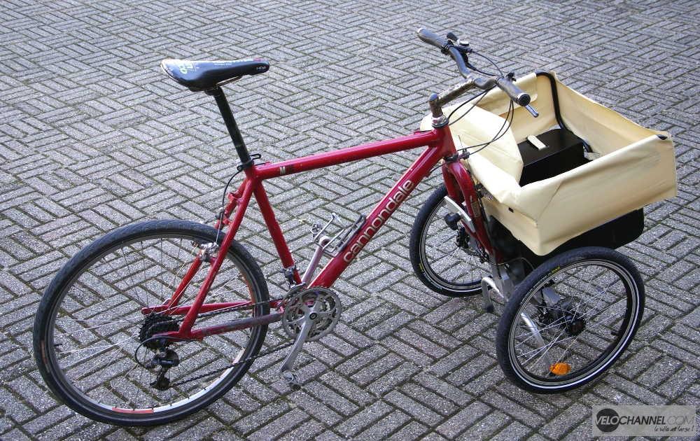 Addbike installé sur le Cannondale M700 de test VeloChannel