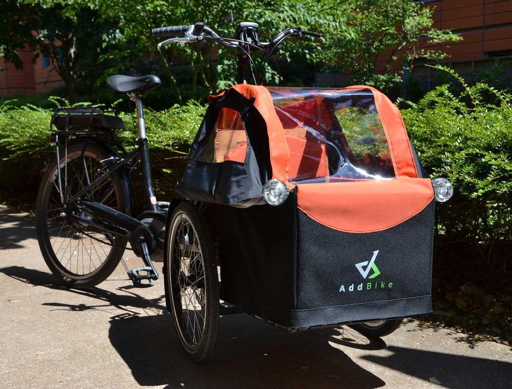 Addbike pour le transport d'enfant