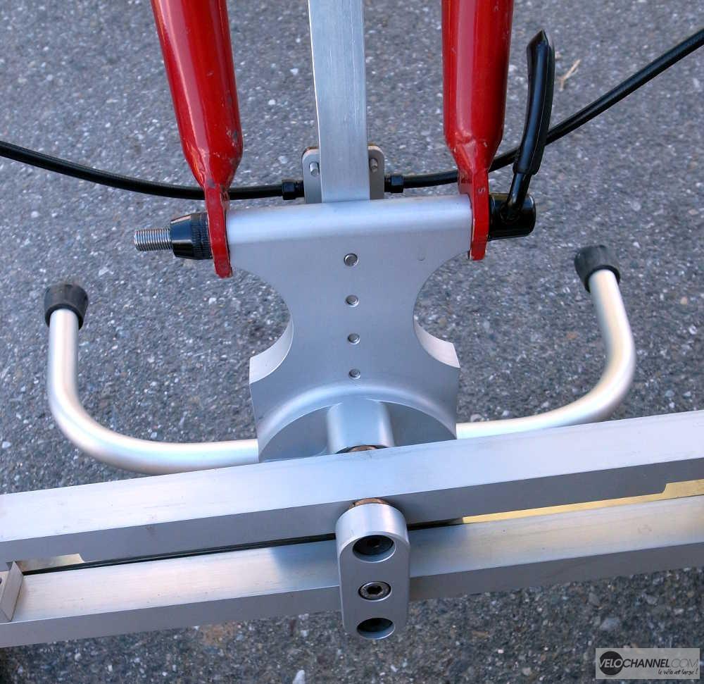 pièce centrale du prototype Addbike