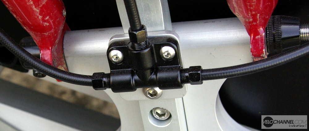 répartiteur du freinage Tektro de l'Addbike