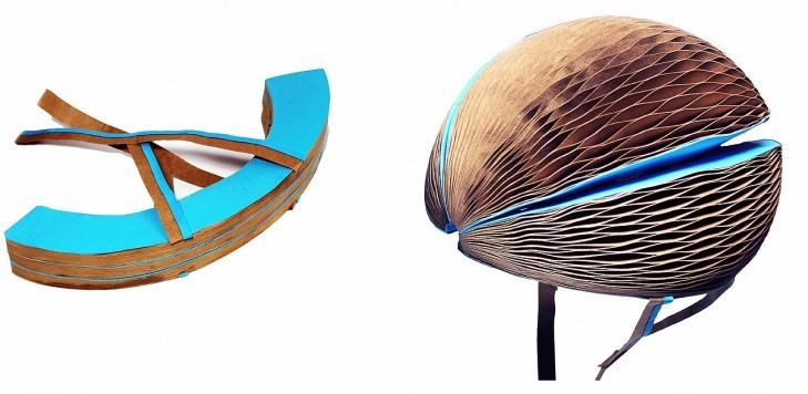 Aspect et principe du casque cycliste Ecohelmet