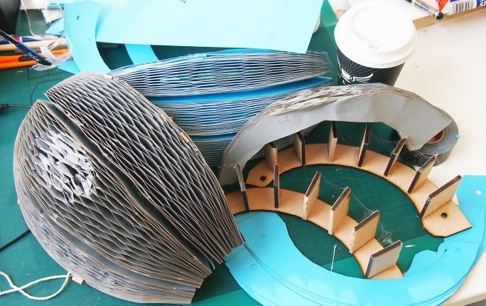 Structure du casque cycliste Ecohelmet