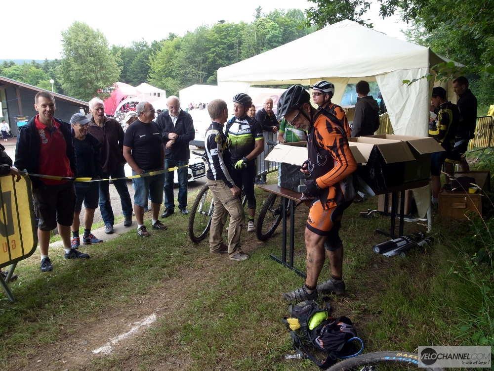 arrivée du Challenge Elsass Bike 2017
