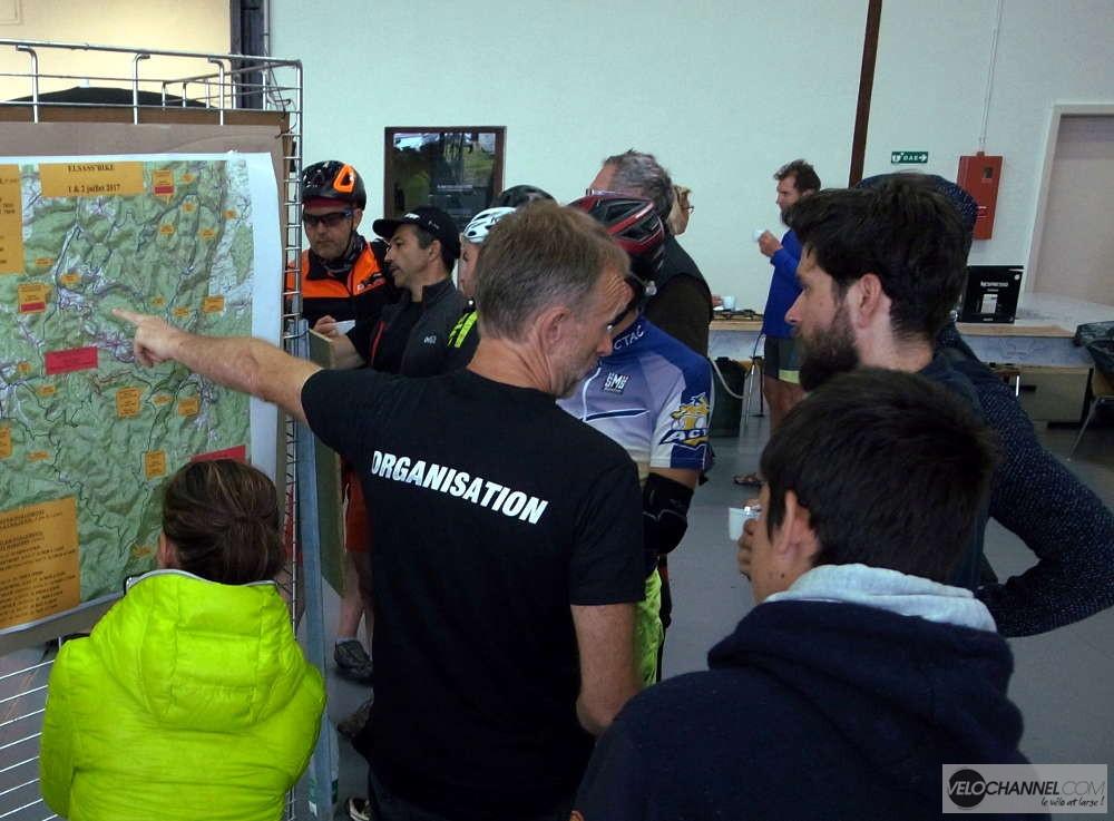 conseils topographiques pour l'Elsass Bike 2017