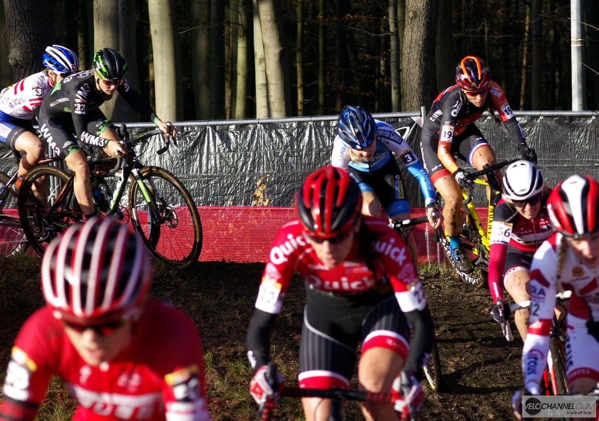 épreuve des dames à Zeven Cyclo-cross mondial