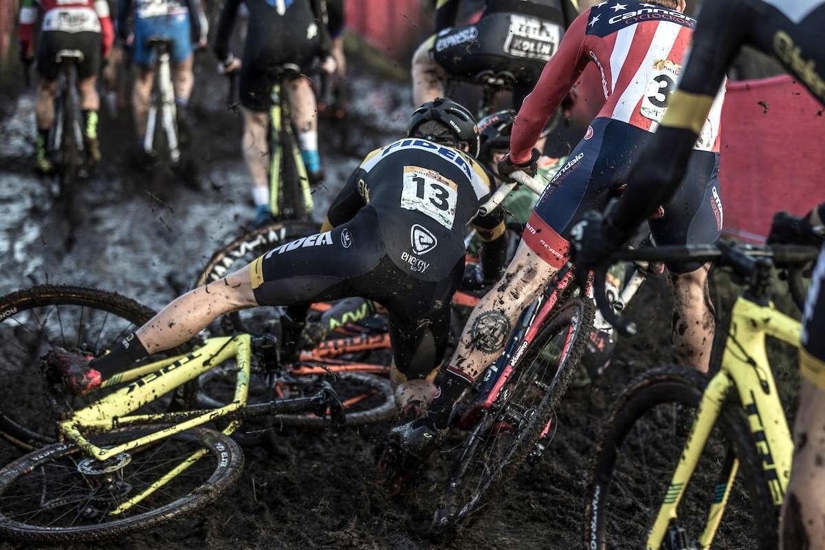 chute collective cyclo-cross
