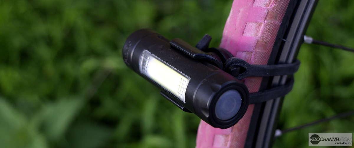 éclairage fabric installé sur un pneu