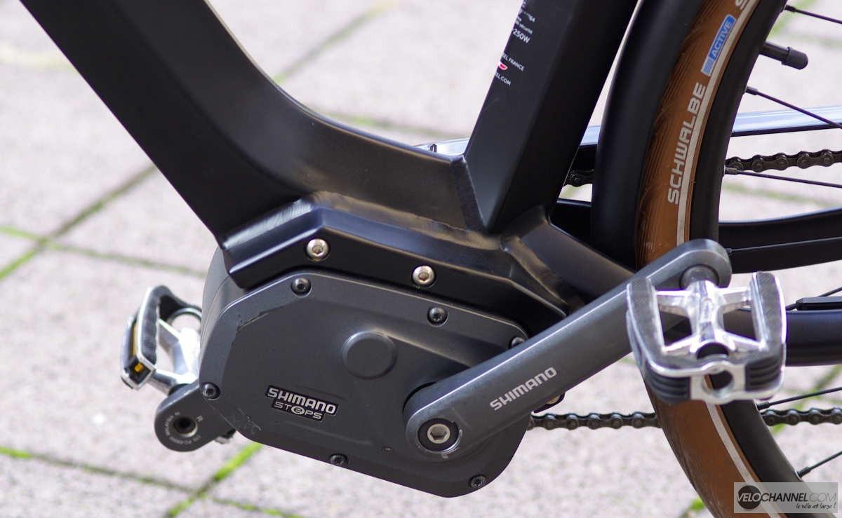 bloc moteur Shimano STEPX