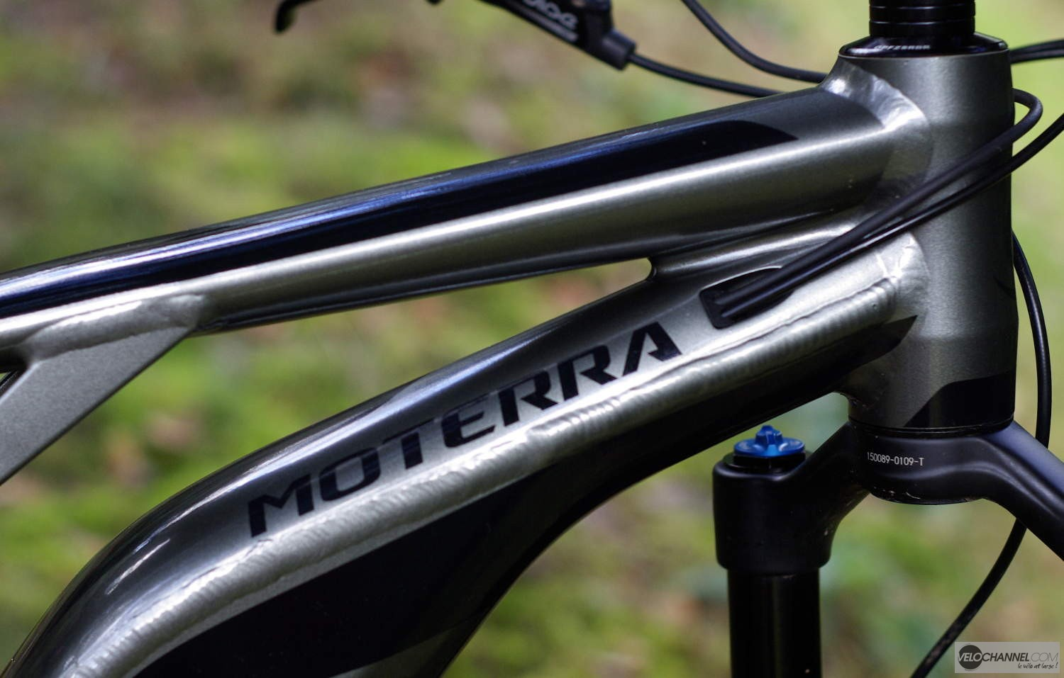 soudures derrière la direction du Moterra SE Cannondale