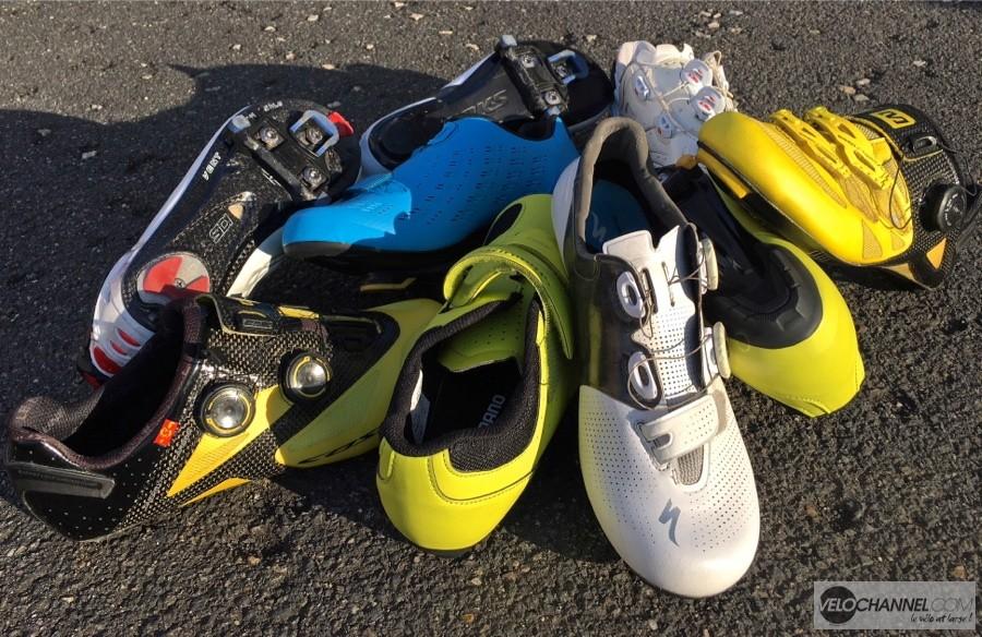 e6532d8809e Il est possible de s équiper de chaussures spécifiques pour le vélo à  partir de 39 € chez Decathlon
