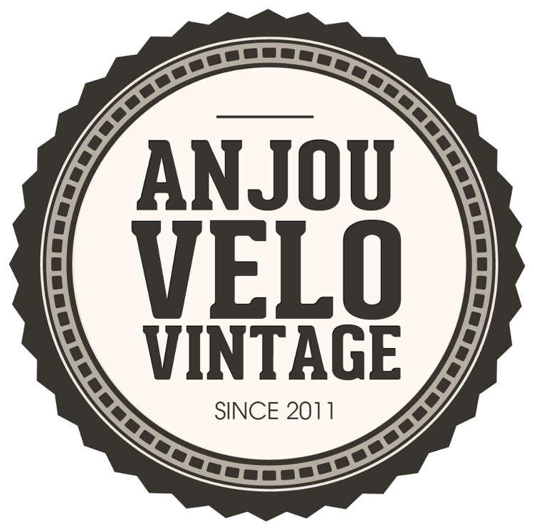 logo Anjou velo vintage