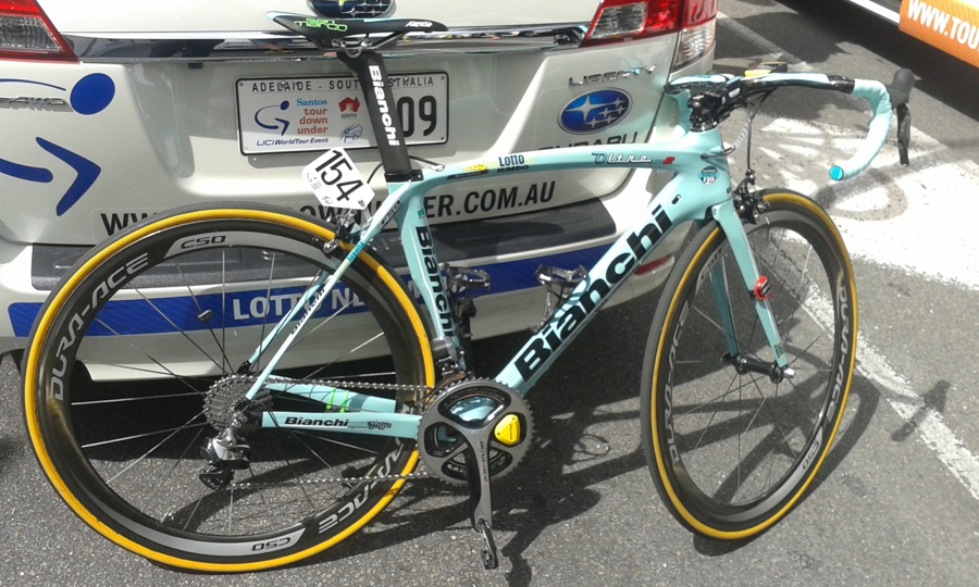 Bianchi Oltre Lotto Jumbo NL Shimano Pro Tour Down Under