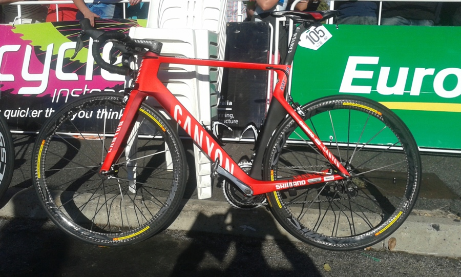 Canyon Pro Katusha Pro Tour Down Under