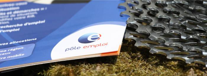 brochure Pole-Emploi et cassette roue libre