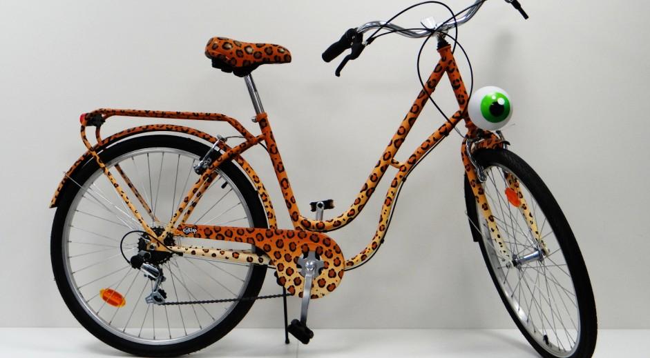 vélo léopard