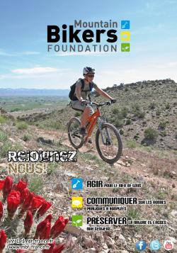 affiche Mountain Bike Foundation