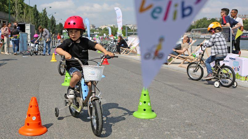 Vélib' pour enfant